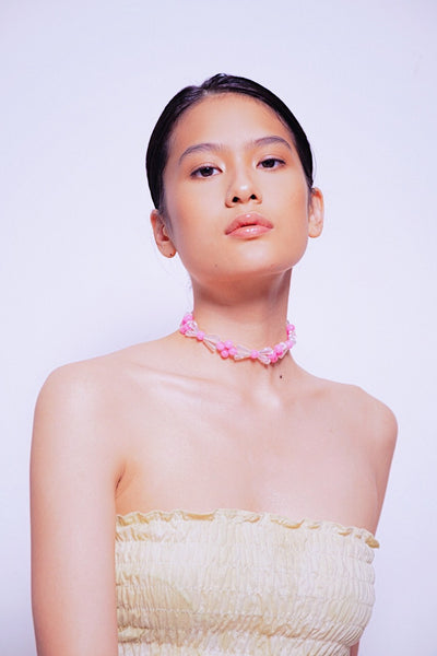 Andrea Pink Choker - House of Jealouxy