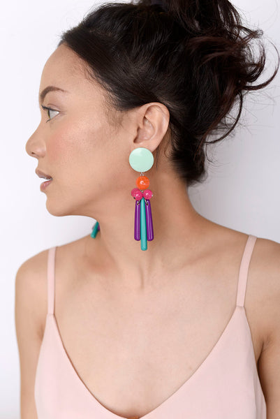 Pavo Earrings - House of Jealouxy