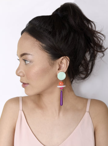 Perseis Earrings - House of Jealouxy