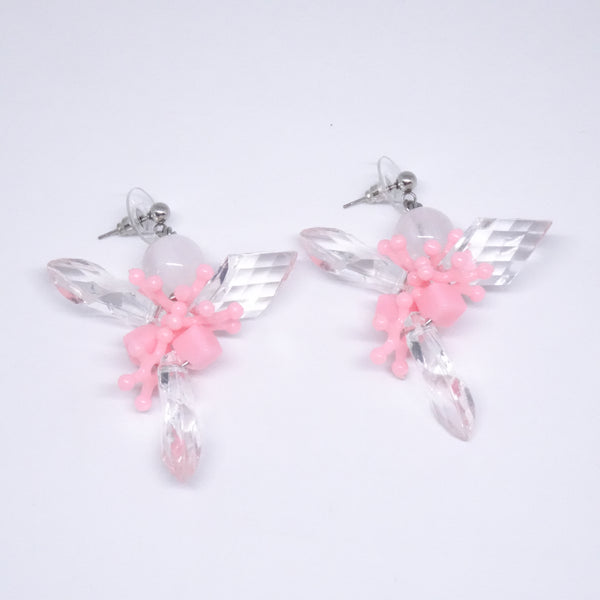 Kale Pink Earring - House of Jealouxy