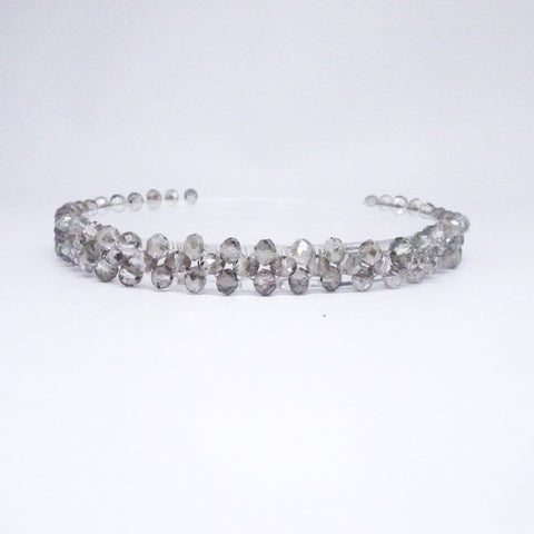 Karma Lily Clear Gray Choker - House of Jealouxy
