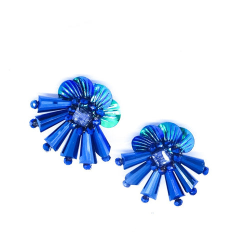 Mulan Blue Earrings