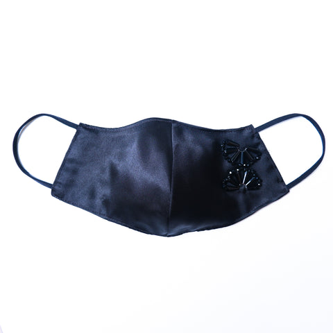 Satin Mask Black 6