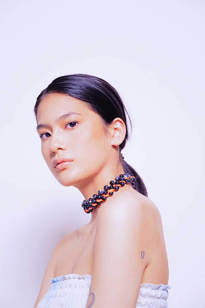 Emily Black Choker - House of Jealouxy