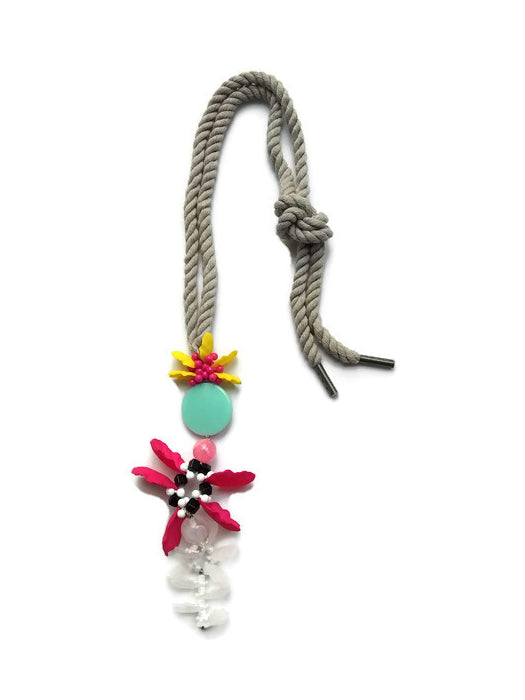 Flower Rope 2 Necklace