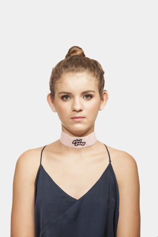 Girl Gang Pink Choker