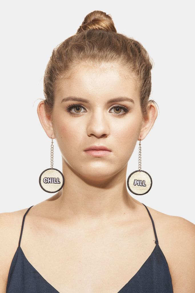 Chill Pill  Earrings - House of Jealouxy