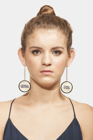 Chill Pill  Earrings