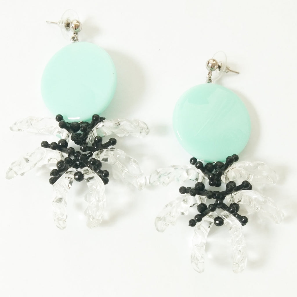 Daisy Teal Earring - House of Jealouxy