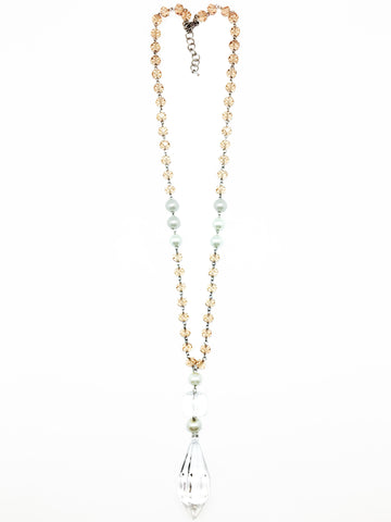 Azra Champagne Necklace
