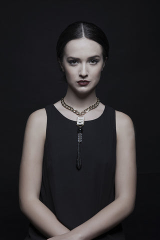 Rome Black Necklace - House of Jealouxy