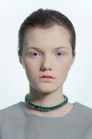 Beatrice Choker Green