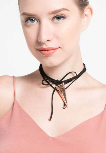 Tie Wrap Choker - House of Jealouxy