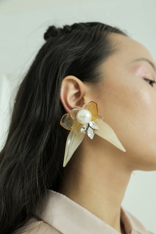 Teratai Earrings