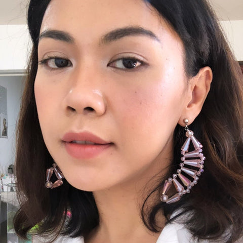 DNA Pink Petite Earring - House of Jealouxy