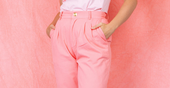 Allison: Pink Trouser Baby!