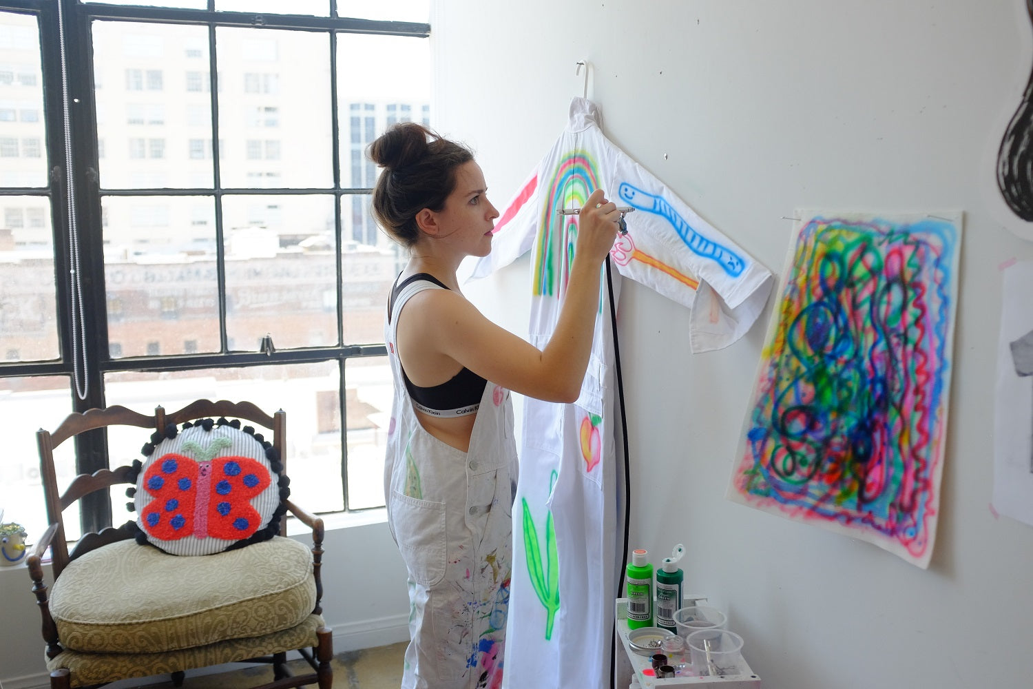 750da26ebb34 We are so excited for our upcoming collaboration with Gentle Thrills!  Gentle Thrills is artist Isa Beniston and her sense of humor