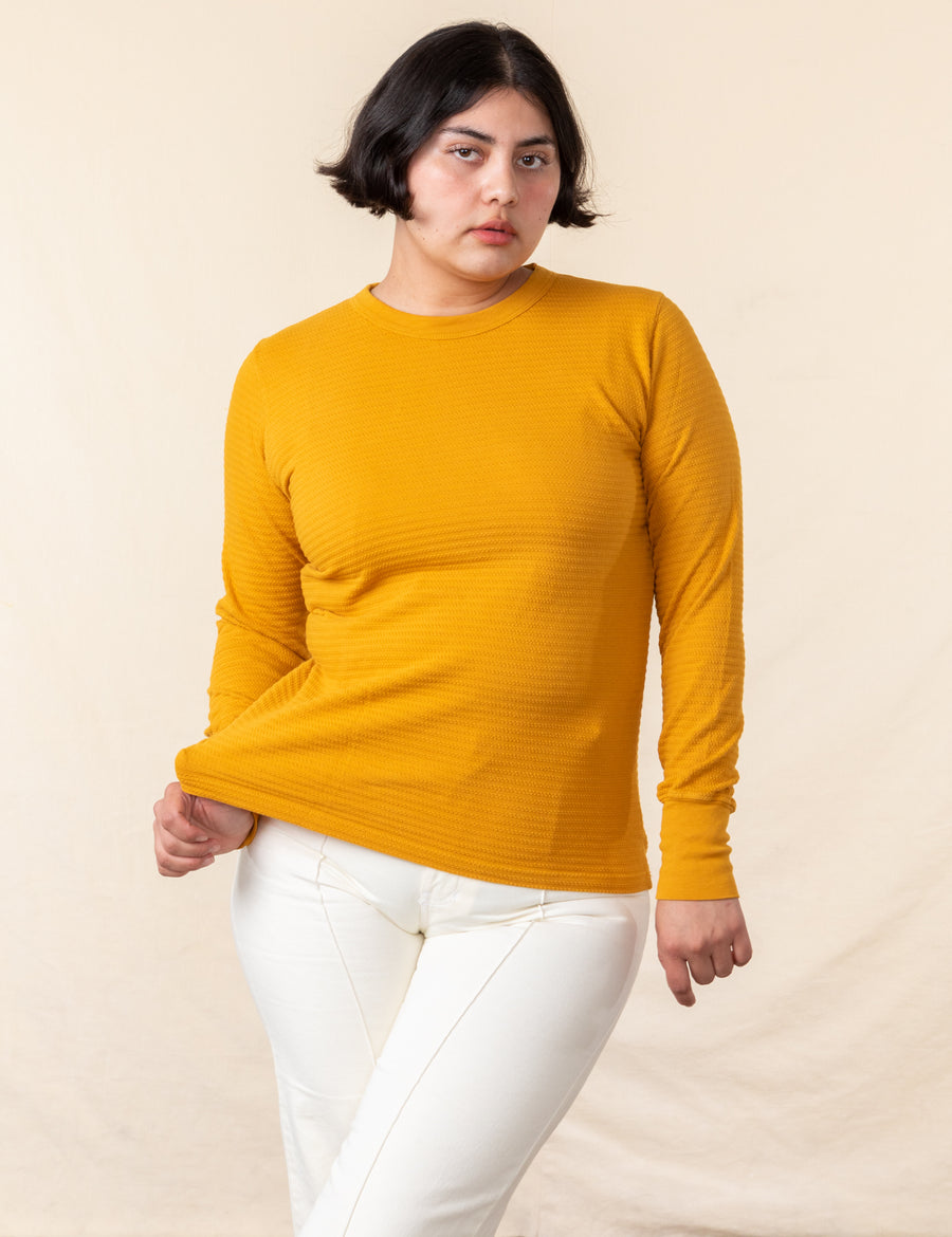 Thermal - Mustard Yellow