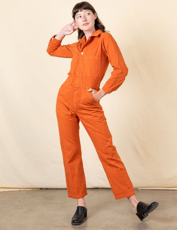 Everyday Jumpsuit - Burnt Orange