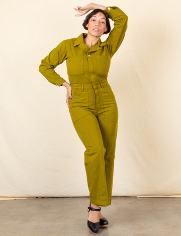 Everyday Jumpsuit - Olive Green