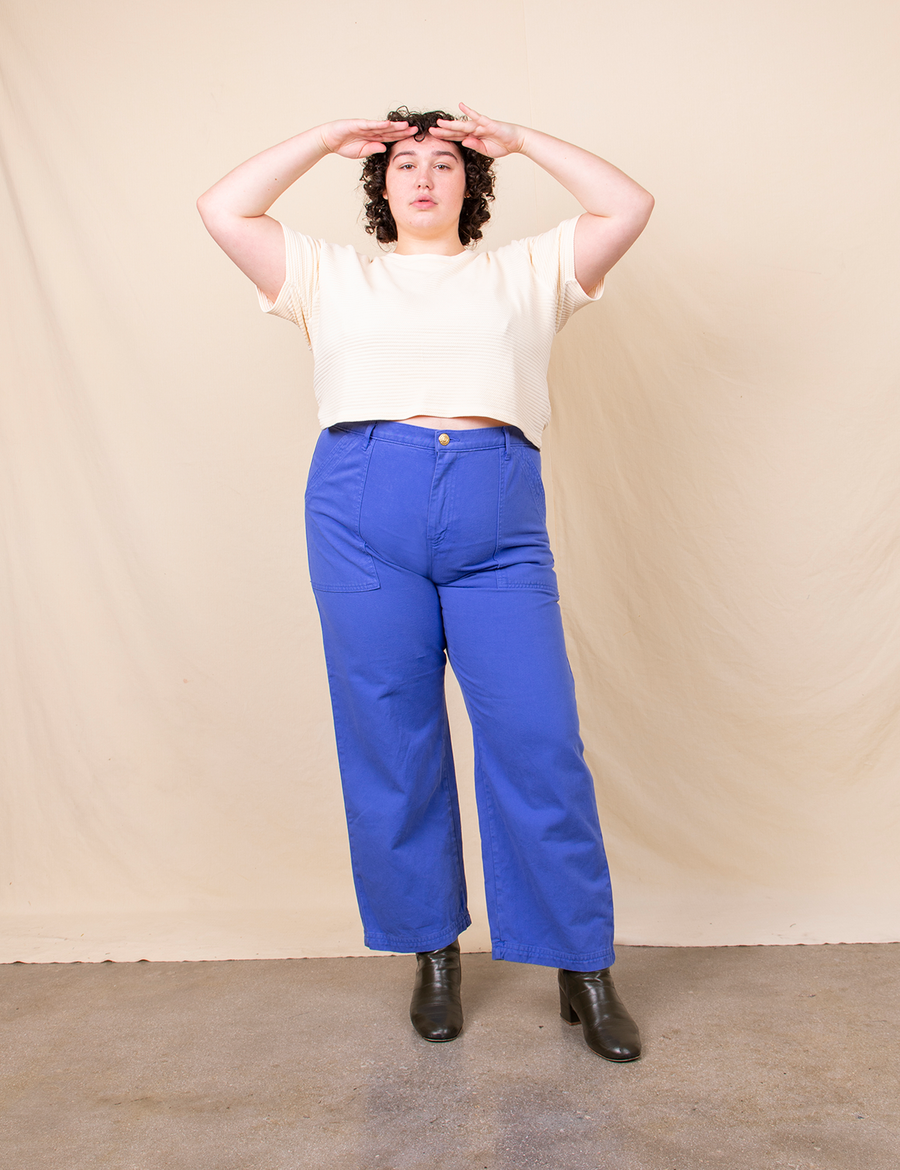 Work Pants - Cornflower Blue