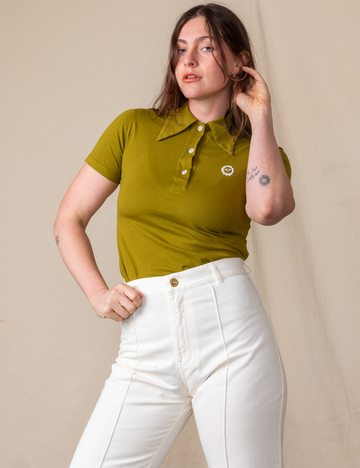 Polo - Olive Green