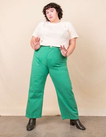 Work Pants - Seafoam Green