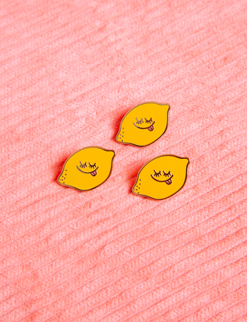 Lemon Baby Pin