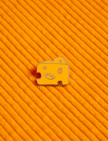 Cheese Baby Pin