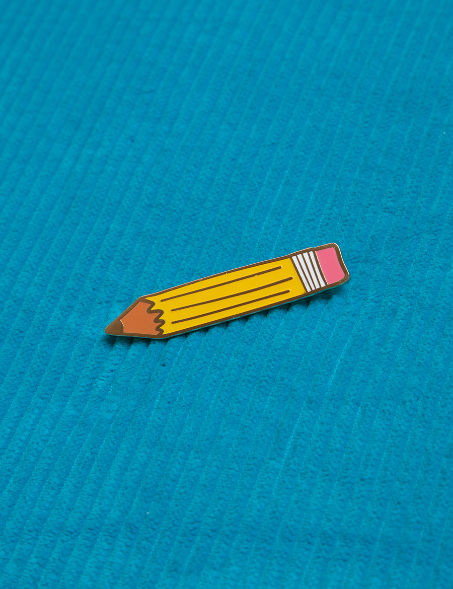 Pencil Brooch