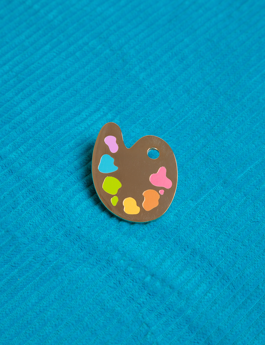 Painter's Palette Pin