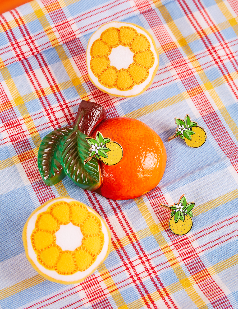 Orange Blossom Pin