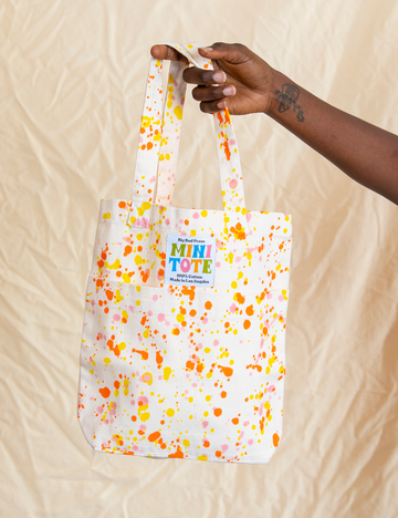 Paint Splatter Mini Tote