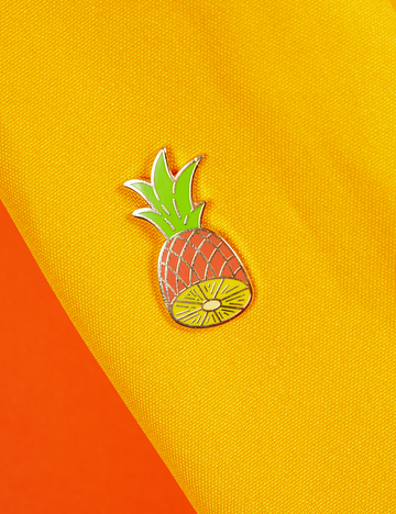 Golden Pineapple Pin