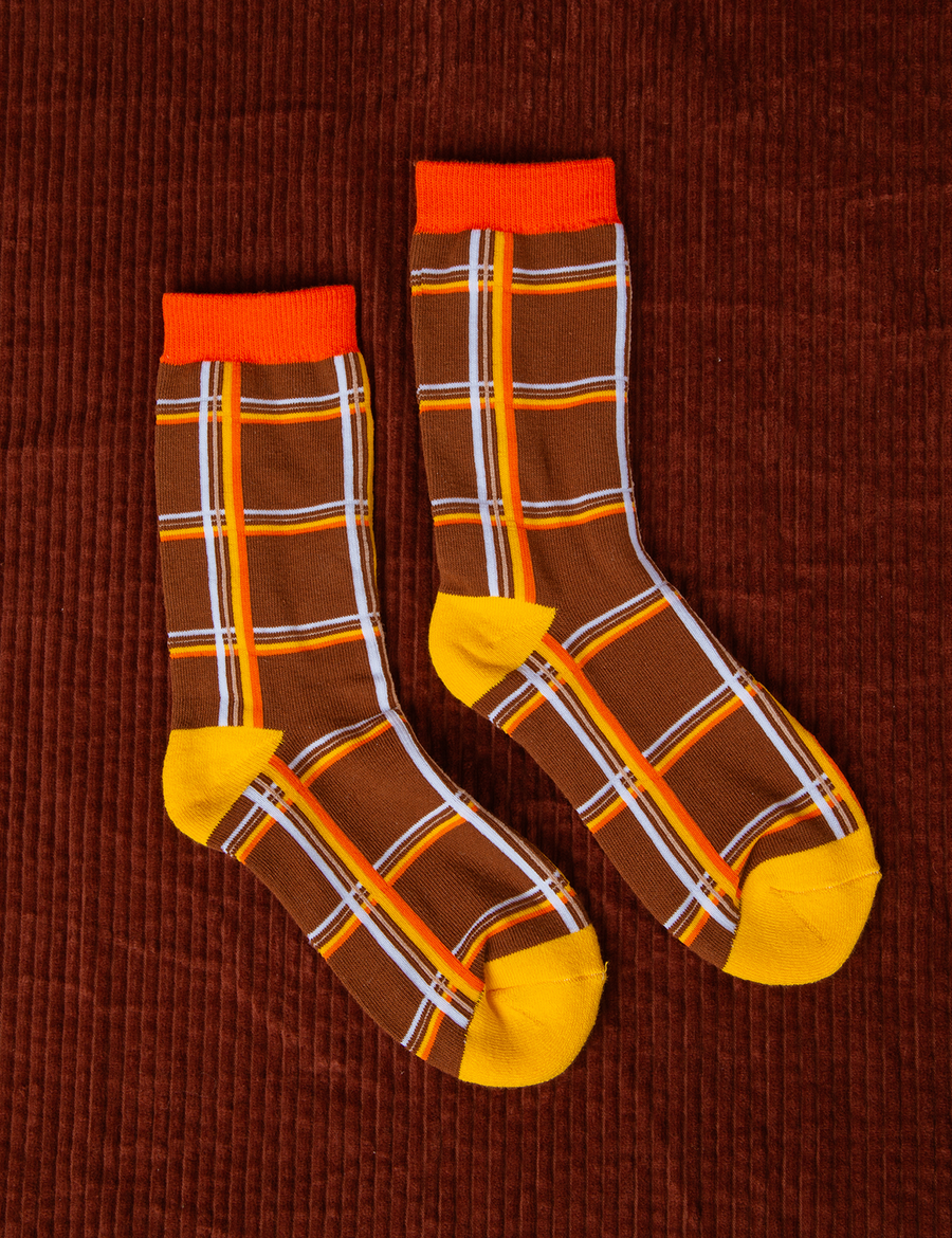 Dad's Plaid Socks