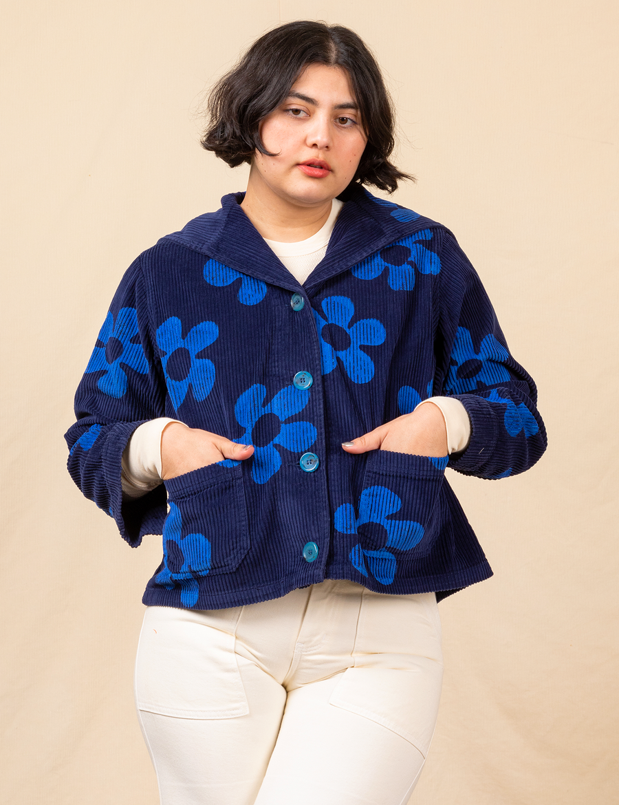 Sailor Jacket - Flowers