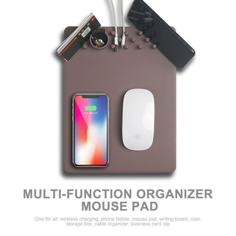i915 Multifunctional Mouse Pad  QI Wireless Charger - i-s-mart.com | No.1 Branded Online Shop in Cambodia