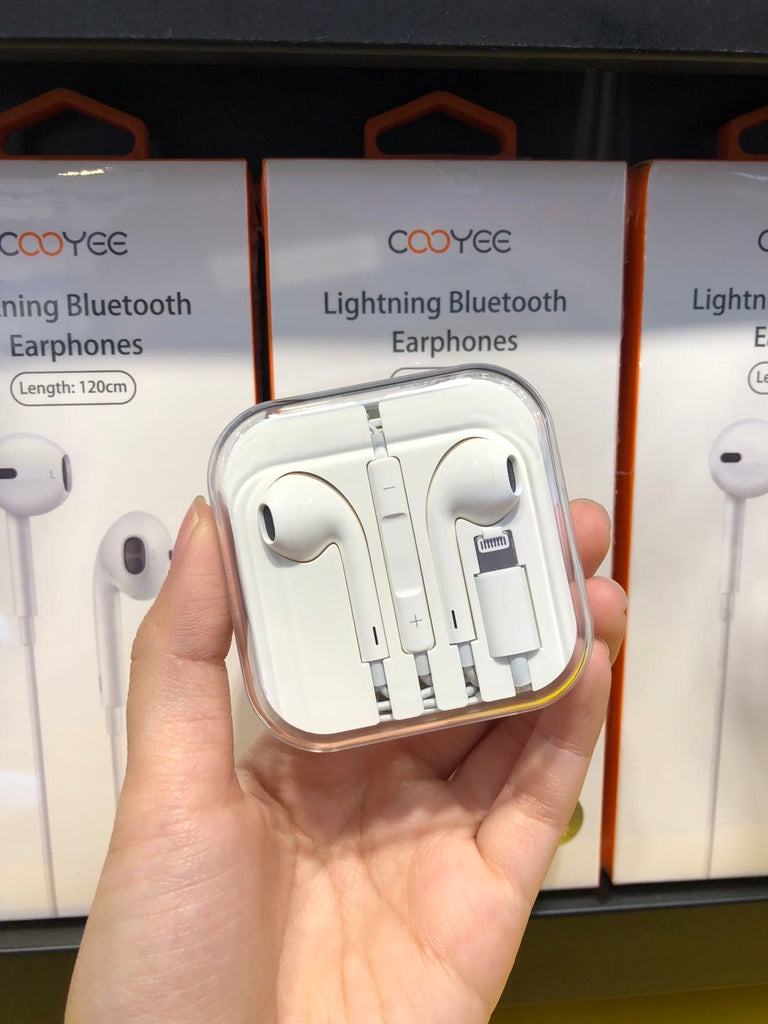 i1128 COOYEE Lightning Bluetooth Earphones - i-s-mart.com | No.1 Branded Online Shop in Cambodia