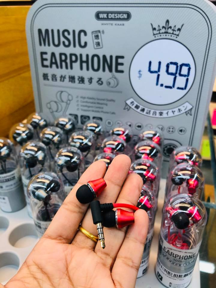 Wi80  Wired Earphone
