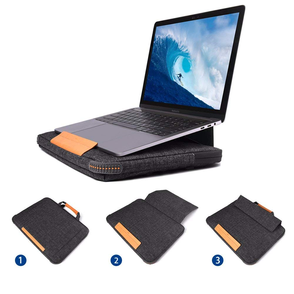 i1008 WIWU Smart Stand Laptop Sleeve - i-s-mart.com | No.1 Branded Online Shop in Cambodia