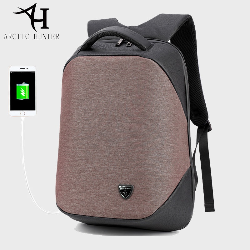 i942 ARCTIC HUNTER Backpack  USB Charging - i-s-mart.com | No.1 Branded Online Shop in Cambodia