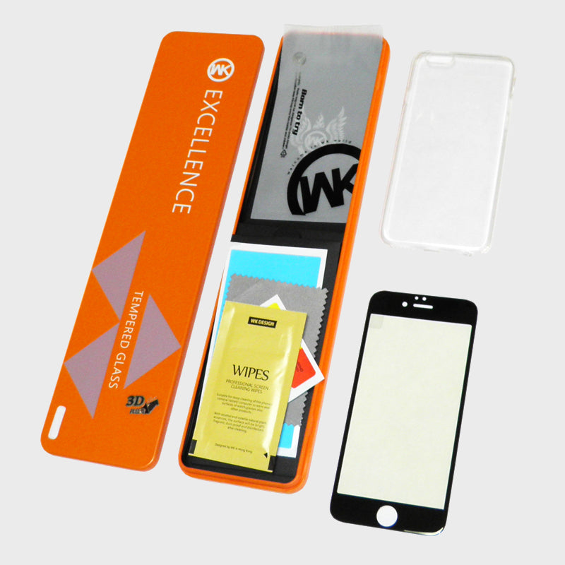 i816 WK Thunder 3D Tempered Glass - i-s-mart.com | No.1 Branded Online Shop in Cambodia