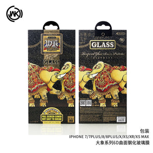 WTP-018 Elephant 6D Full Screen Protector for iPhone - i-s-mart.com | No.1 Branded Online Shop in Cambodia