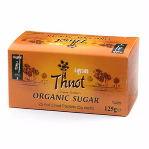 Organic Thnot Sugar Sachet in box 25x5g - i-s-mart.com | No.1 Branded Online Shop in Cambodia