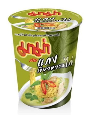 Cup Noodles Chicken Green Curry - i-s-mart.com | No.1 Branded Online Shop in Cambodia