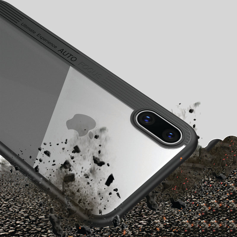 i885 LIKGUS Eagle Eye Sleeve Beer Transparent Phone Shell For iPhone X - i-s-mart.com | No.1 Branded Online Shop in Cambodia