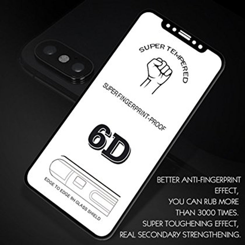 i1000 6D Tempered Glass for iPhone - i-s-mart.com | No.1 Branded Online Shop in Cambodia