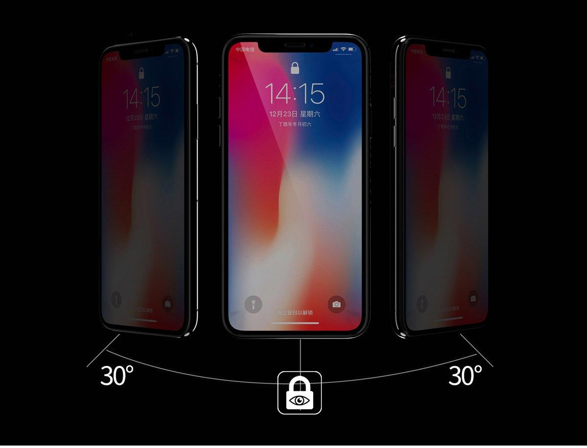 WTP-012 Kingkong  4D tempered glass full Screen Protector For iPhone (Privacy) - i-s-mart.com | No.1 Branded Online Shop in Cambodia