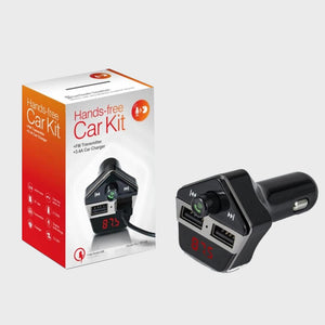 i911 Car KIT Hands-free Bluetooth Hands MP3 FM 2 USB Charger - i-s-mart.com | No.1 Branded Online Shop in Cambodia