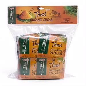 Organic Thnot Sugar Sachet in bag 50x5g - i-s-mart.com | No.1 Branded Online Shop in Cambodia